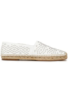 PALOMA BARCELÓ Beaded leather espadrilles