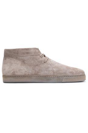 VINCE. Novato suede ankle boots