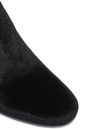 SAM EDELMAN Velvet over-the-knee boots