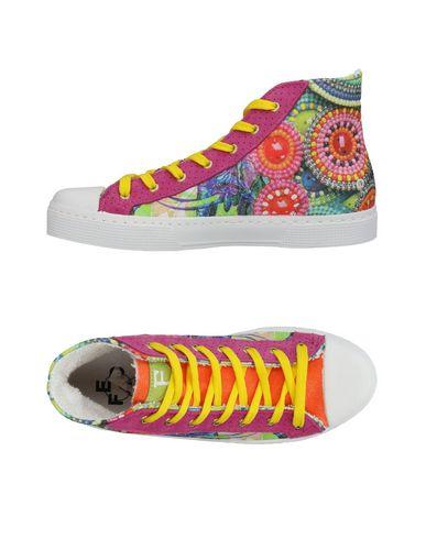 zapatillas FED Sneakers abotinadas mujer