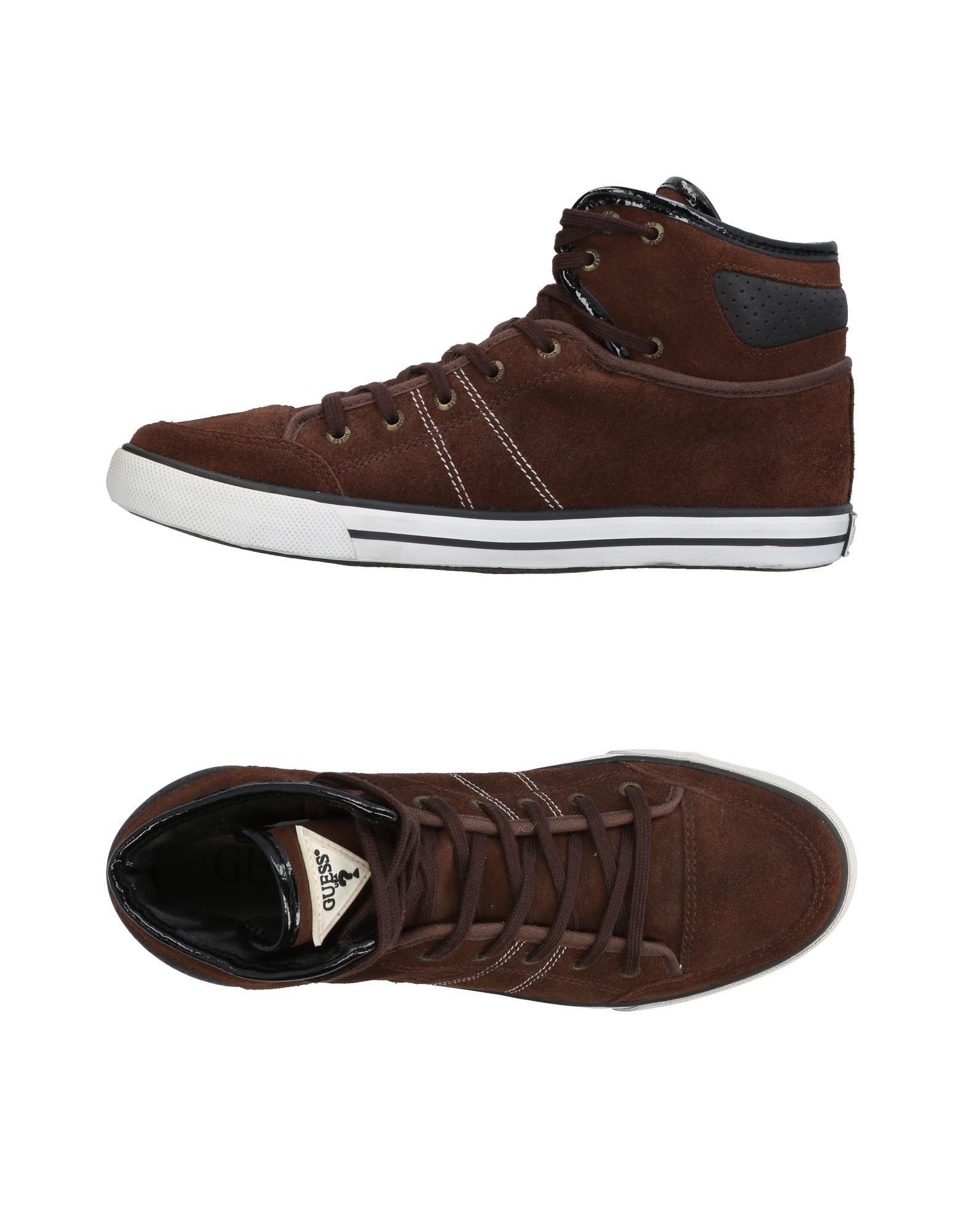 GUESS Высокие кеды и кроссовки