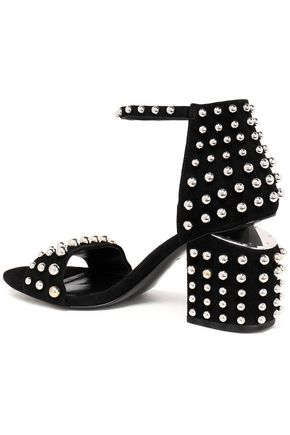 ALEXANDER WANG Studded suede sandals