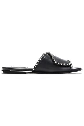 ALEXANDER WANG Leidy studded leather slides