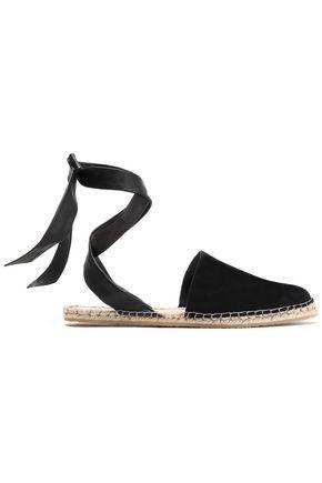 LOEFFLER RANDALL Suede espadrille sandals