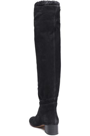 CHLOÉ Suede knee boots