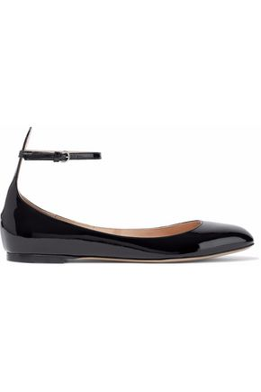 VALENTINO Tango patent-leather ballet flats