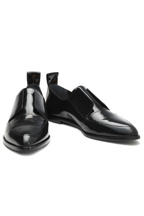 LOEFFLER RANDALL Patent-leather loafers