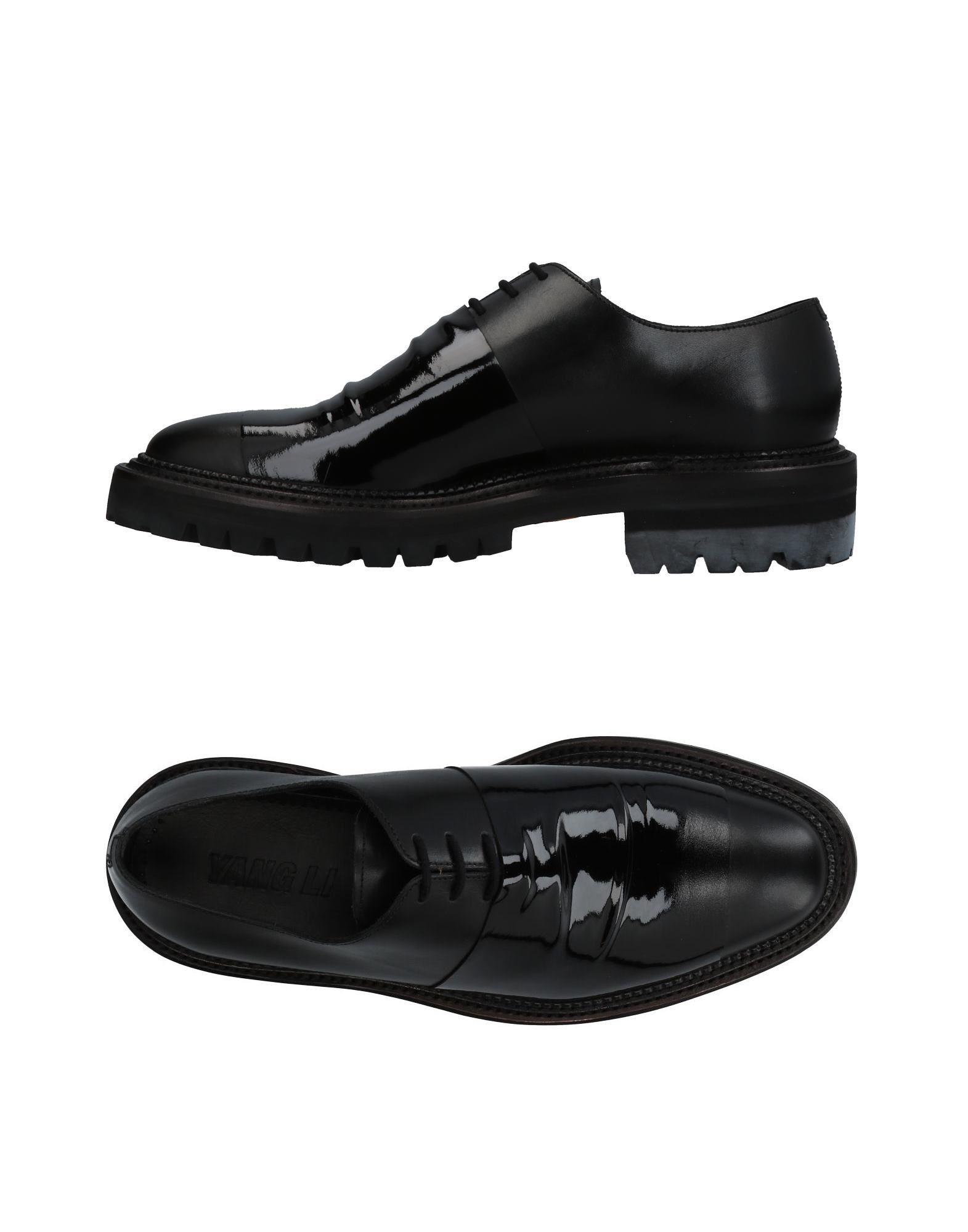 YANG LI Обувь на шнурках