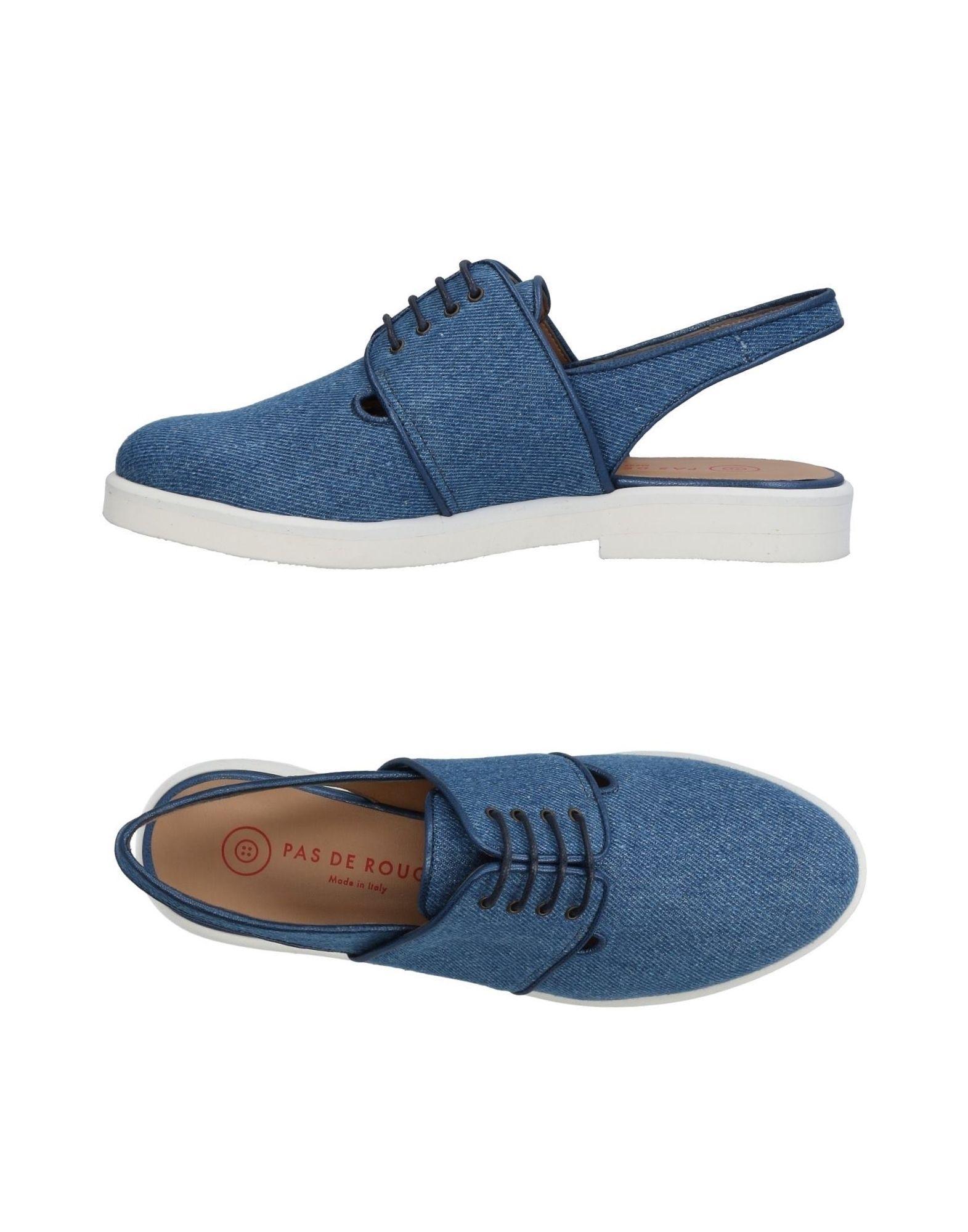 PAS DE ROUGE Обувь на шнурках