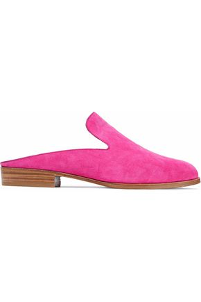 ROBERT CLERGERIE Alicem suede slippers