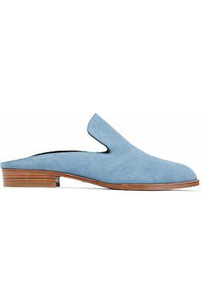 ROBERT CLERGERIE Alice suede slippers