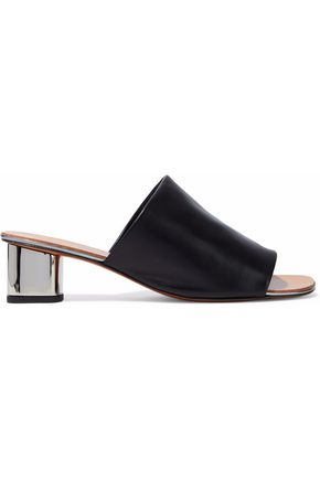 ROBERT CLERGERIE Leather mules