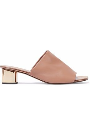 ROBERT CLERGERIE Lato leather mules