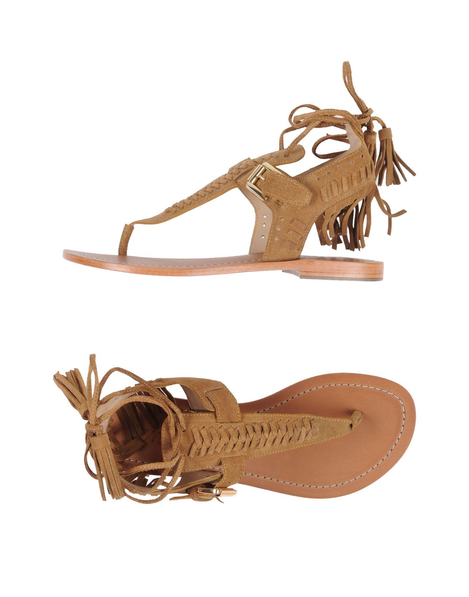 VENTI 12 Flip Flops in Camel