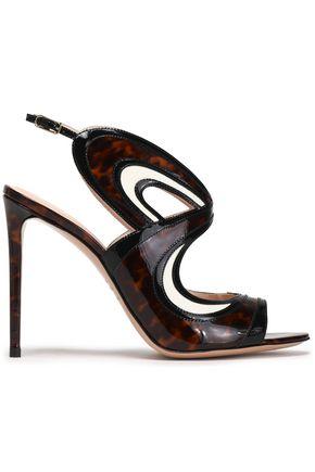 NICHOLAS KIRKWOOD Tortoiseshell patent-leather sandals