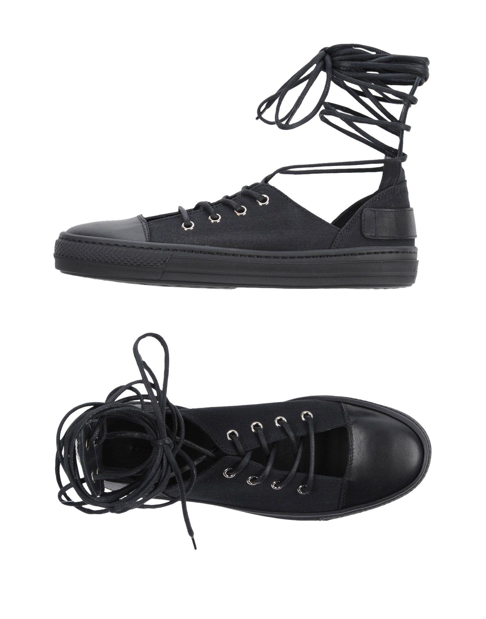 DIESEL BLACK GOLD Низкие кеды и кроссовки кеды кроссовки низкие reef ridge premium heathered black