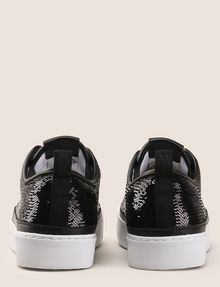 ARMANI EXCHANGE SEQUIN LOW-TOP SNEAKERS Sneakers Woman d
