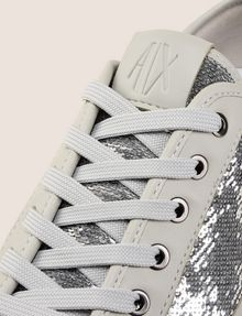 ARMANI EXCHANGE SEQUIN LOW-TOP SNEAKERS Sneakers Woman a