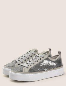 ARMANI EXCHANGE SEQUIN LOW-TOP SNEAKERS Sneakers Woman r