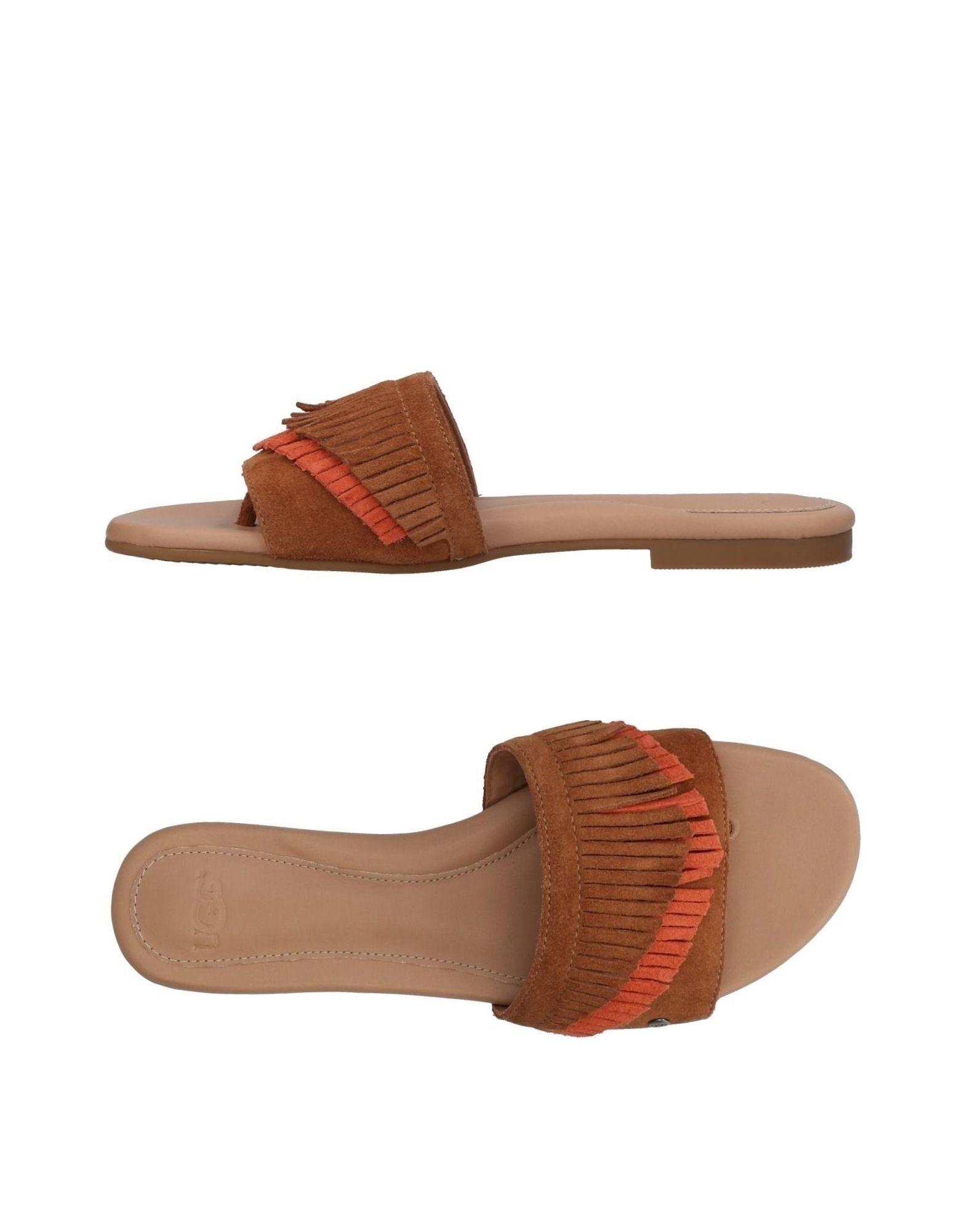 UGG AUSTRALIA Сандалии обувь для дома ugg australia allaria ii scale embossed
