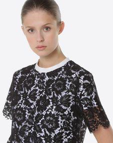 Heavy lace T-shirt