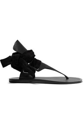 RAG & BONE Suede and leather sandals