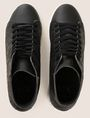 ARMANI EXCHANGE EMBOSSED GEOMETRIC LOGO HIGHTOP Sneakers Man e