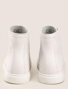 ARMANI EXCHANGE EMBOSSED GEOMETRIC LOGO HIGHTOP Sneakers Man d
