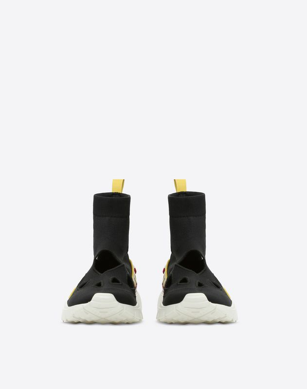 Cut-Out Sock Sneaker
