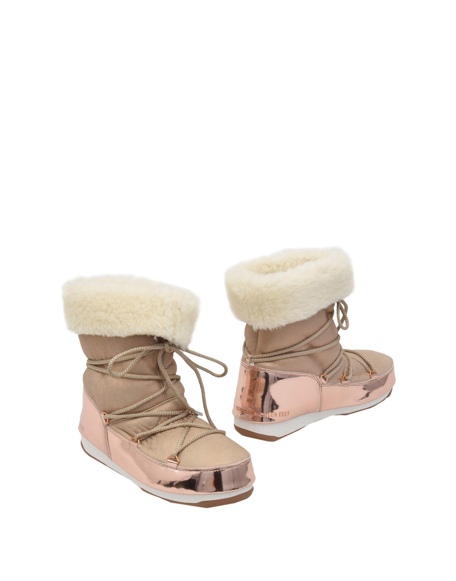 MOON BOOT Полусапоги и высокие ботинки moon flac jeans