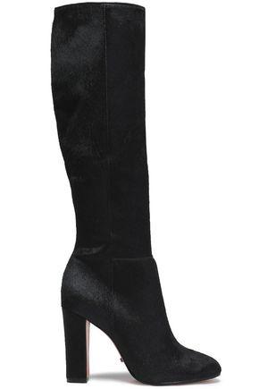 SCHUTZ Calf hair knee boots