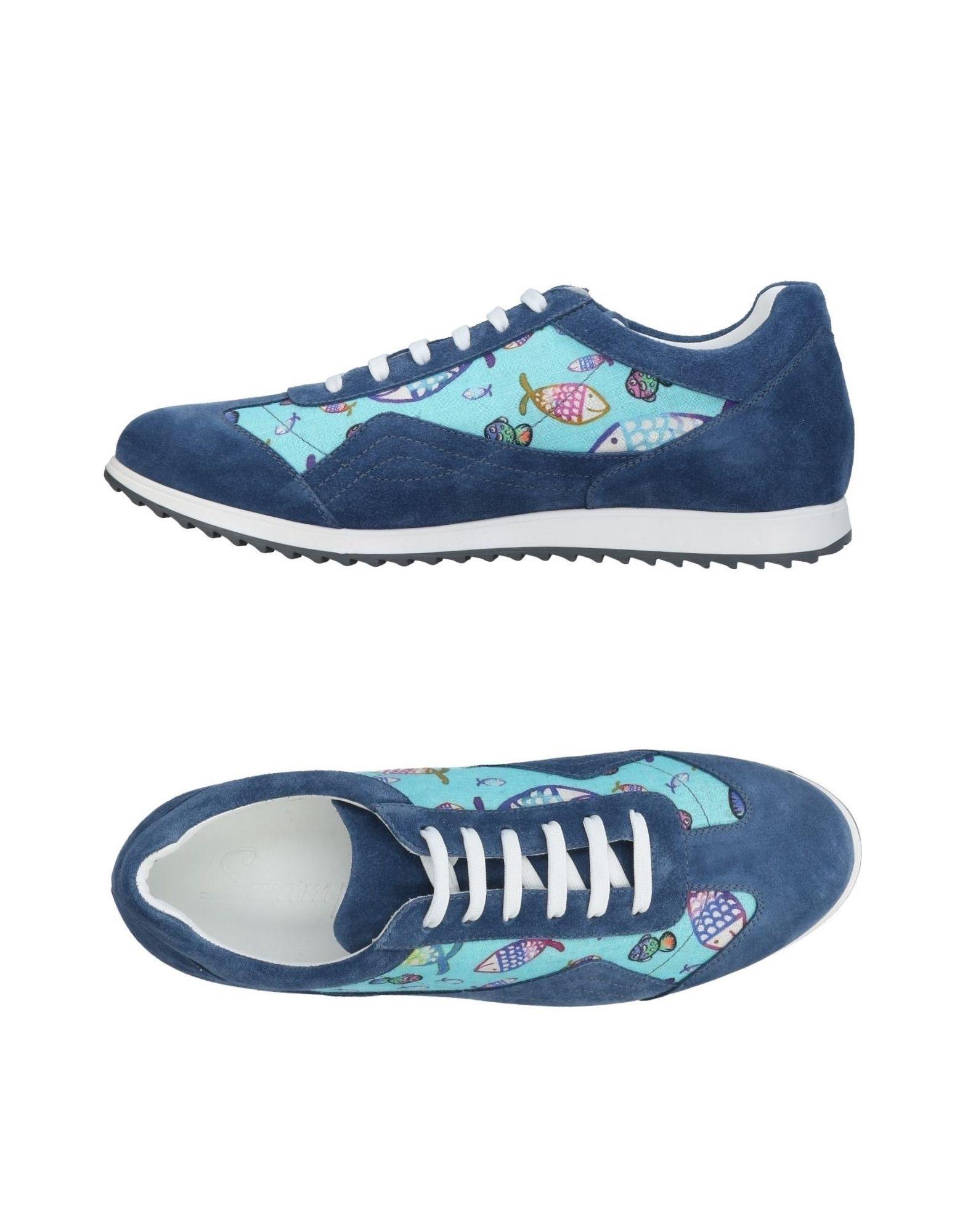 SWAMP Herren Low Sneakers & Tennisschuhe Farbe Blau Größe 5