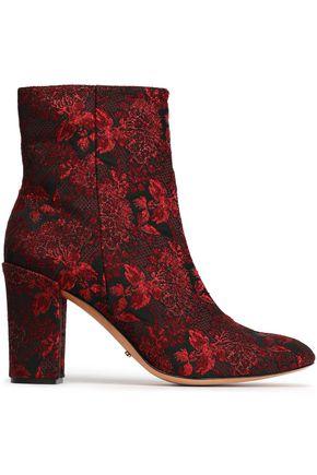 SCHUTZ Jacqard ankle boots
