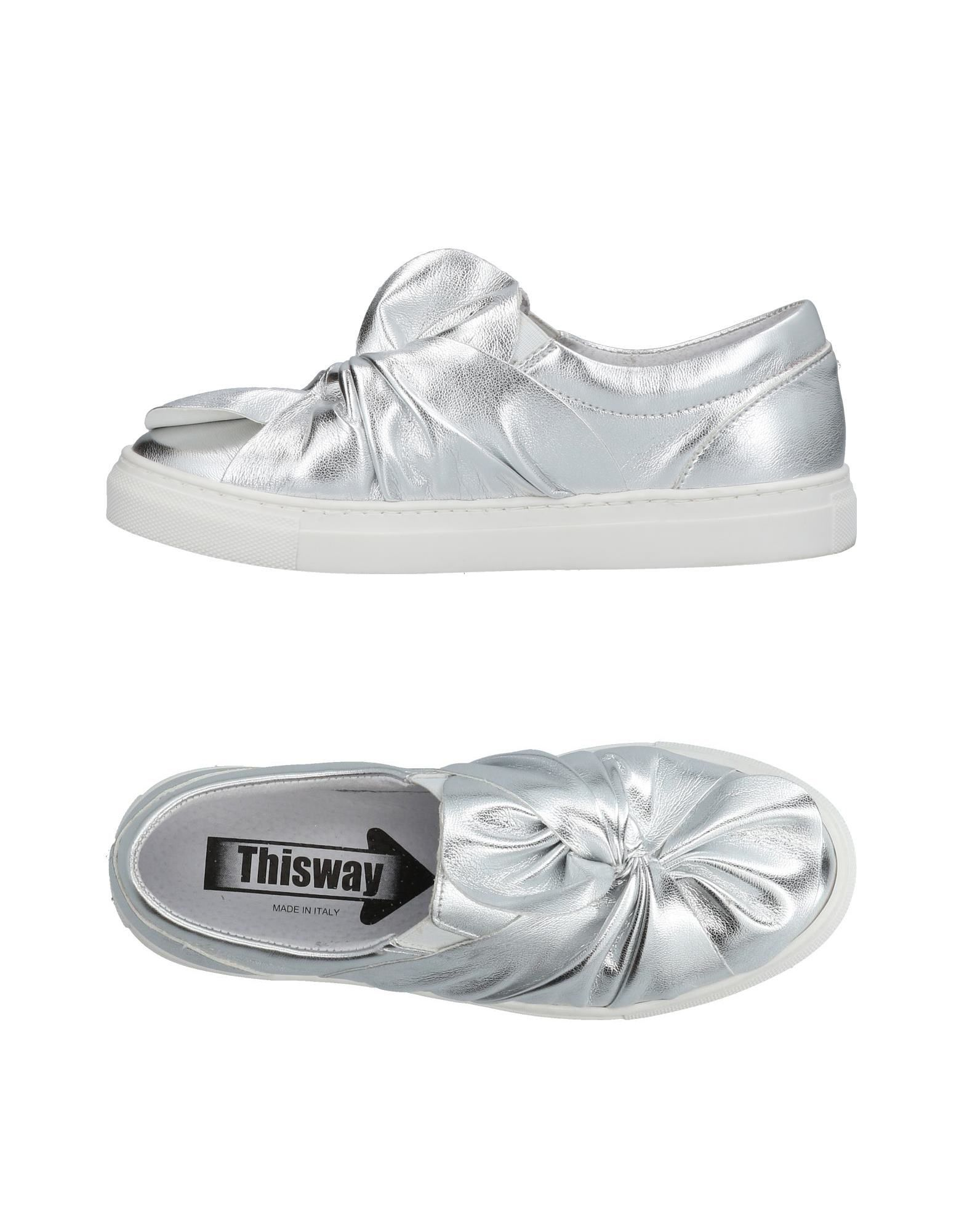 THIS WAY | THIS WAY Low-Tops & Sneakers 11442134 | Goxip