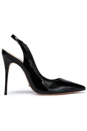 SCHUTZ Patent-leather slingback pumps