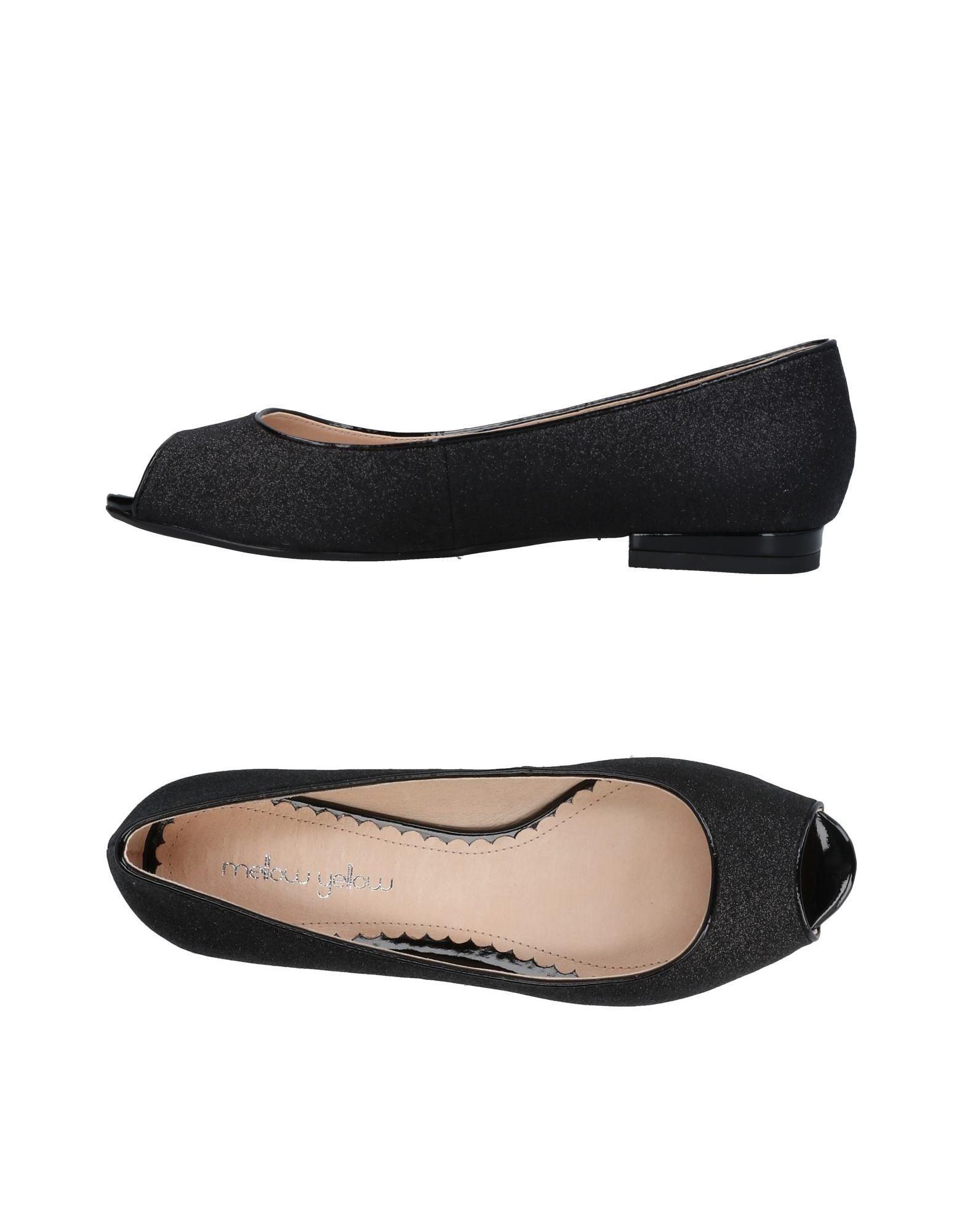 MELLOW YELLOW Ballet Flats in Black