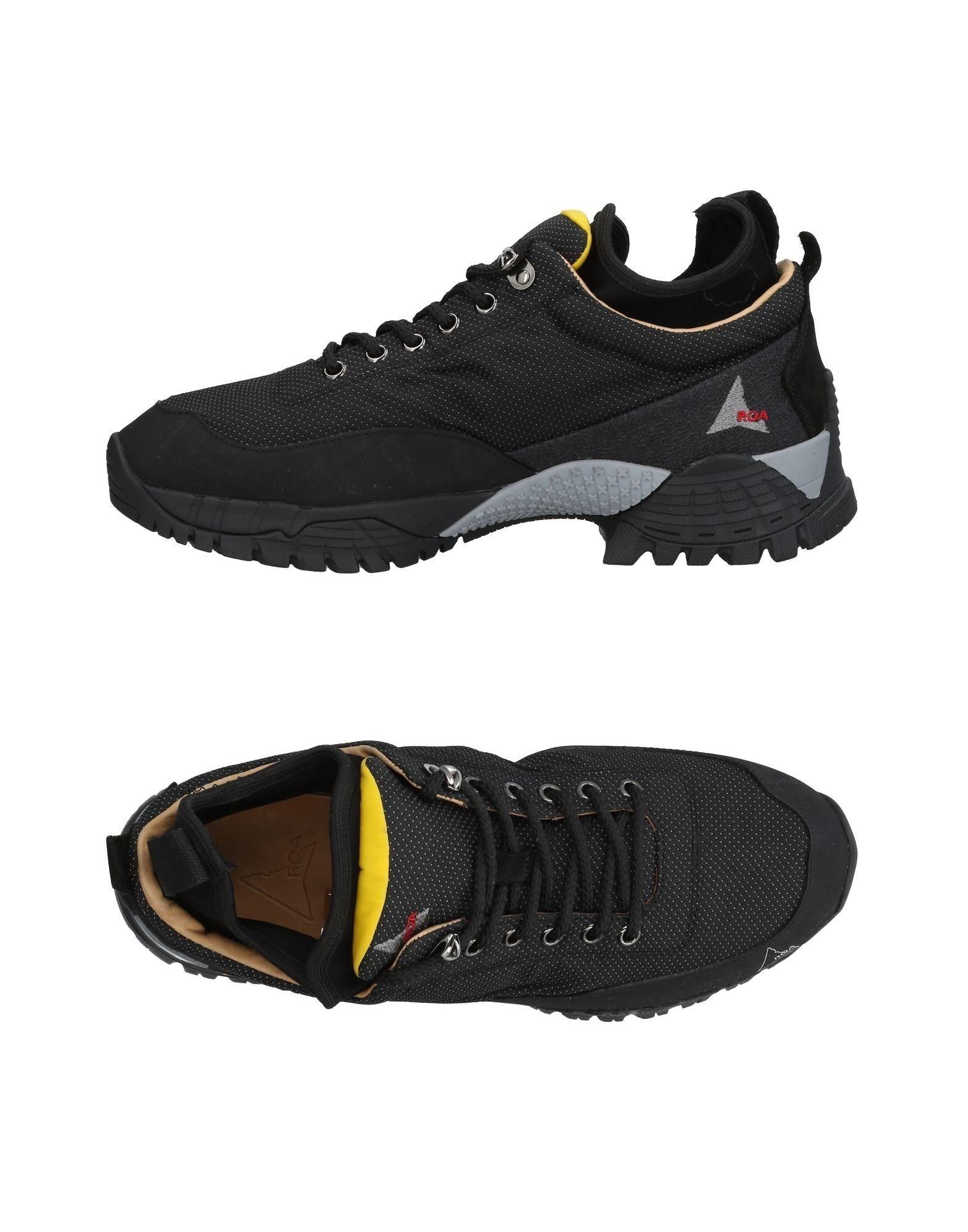 ROA Sneakers in Black