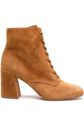 VINCE. Suede ankle boots