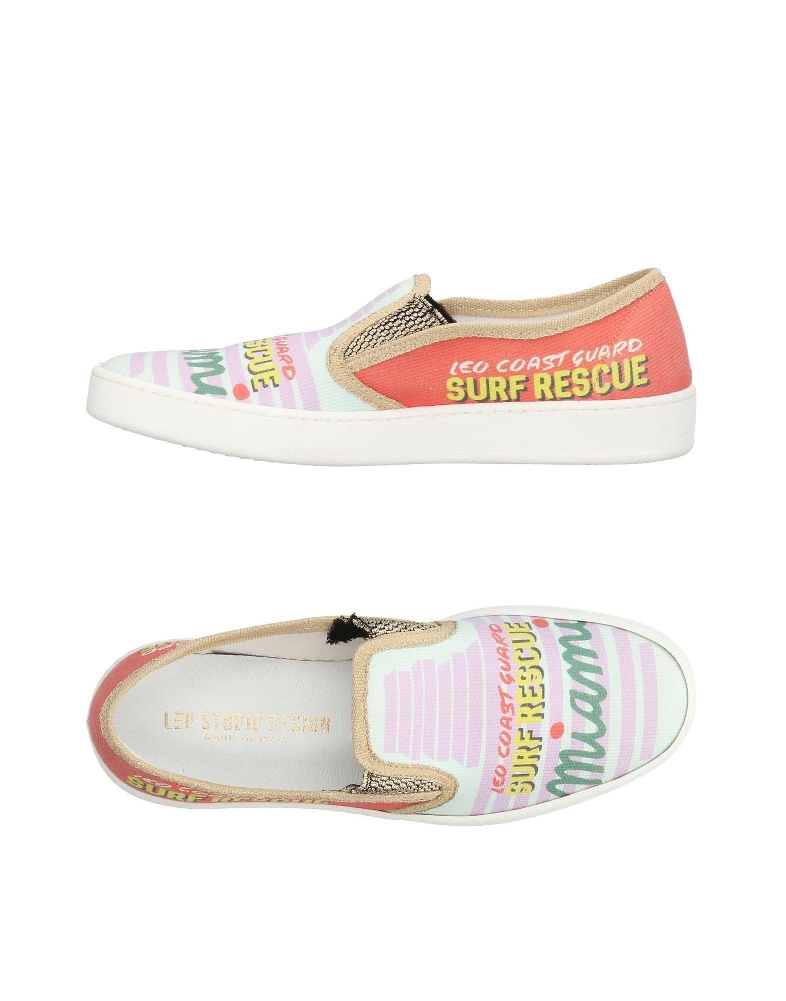 LEO STUDIO DESIGN Низкие кеды и кроссовки цены онлайн