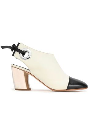 PROENZA SCHOULER Two-tone leather mules