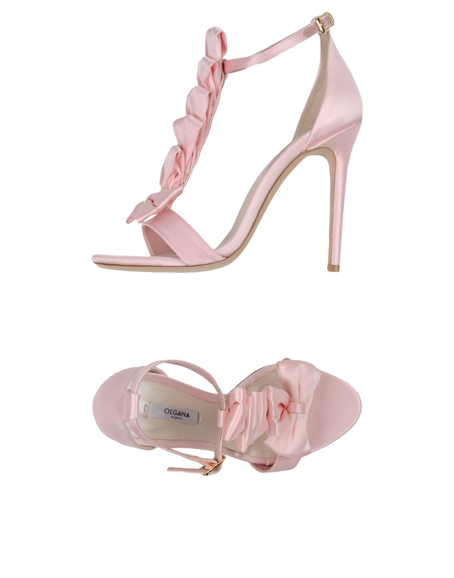 OLGANA PARIS Sandals in Pink