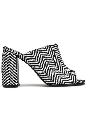 STELLA McCARTNEY Herringbone woven mules