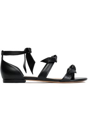 ALEXANDRE BIRMAN Bow-detailed leather sandals
