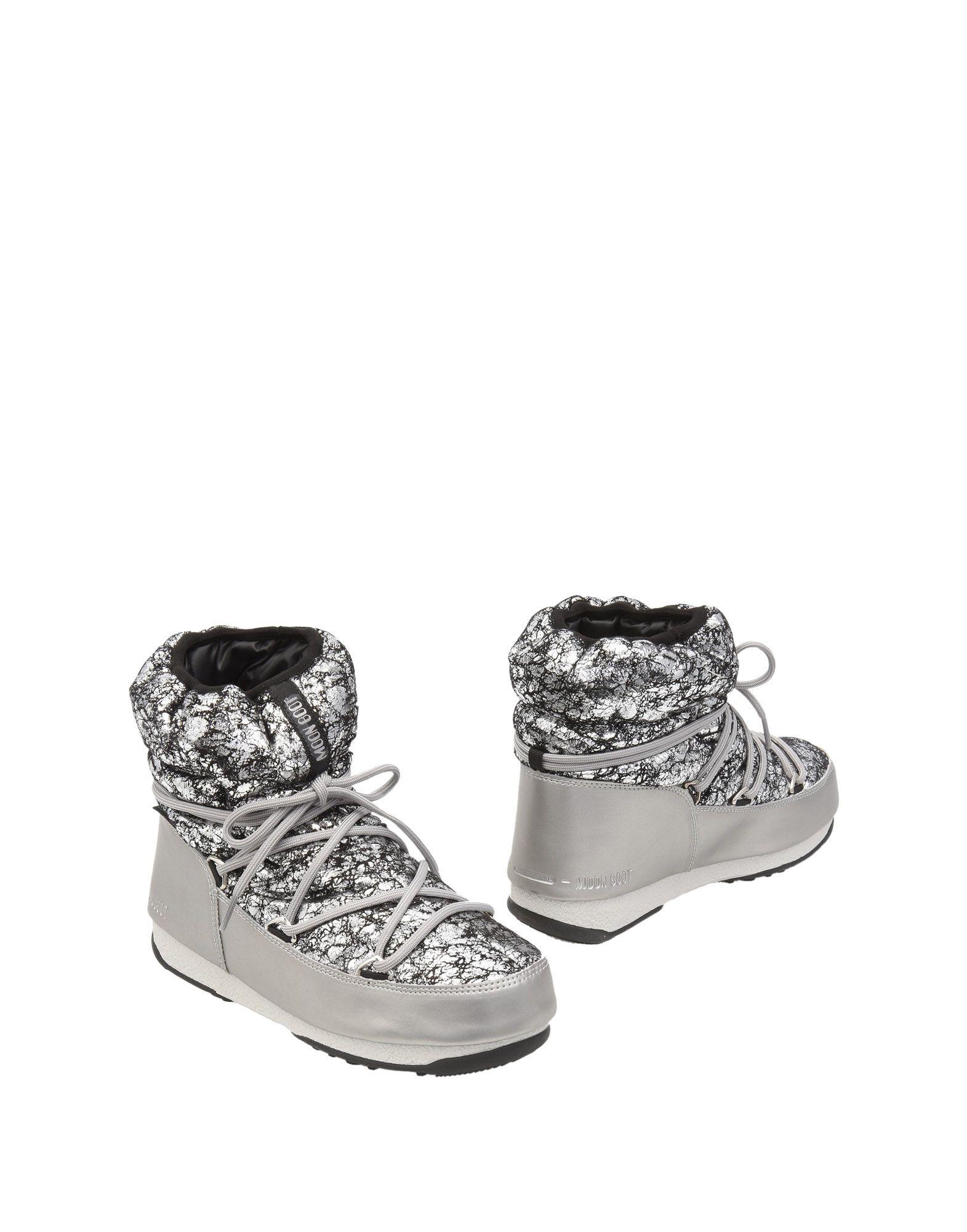 MOON BOOT Полусапоги и высокие ботинки какие лыжи и ботинки для школы