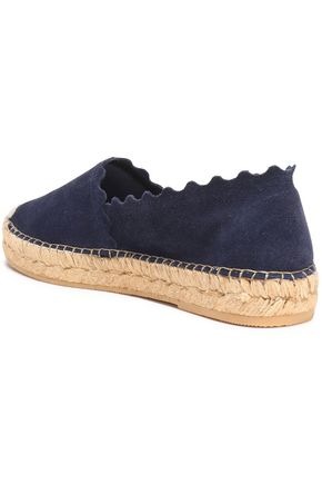 IRIS & INK Hester leather espadrilles