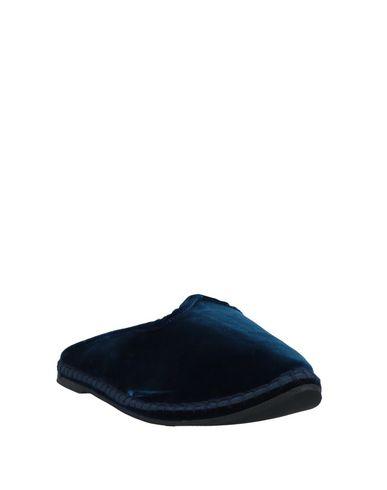 Фото 2 - Мюлес и сабо темно-синего цвета