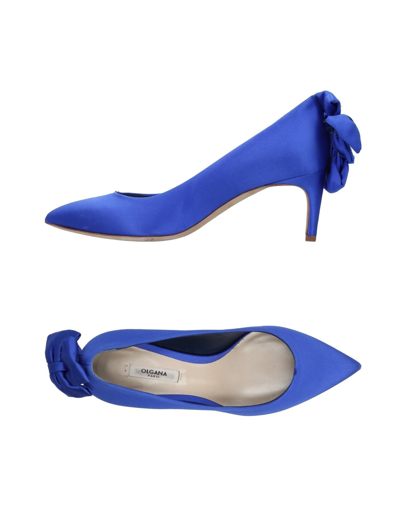 OLGANA PARIS Pump in Blue