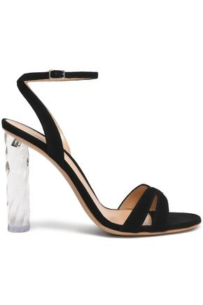shyla-suede-and-perspex-sandals by gianvito-rossi