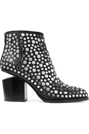 ALEXANDER WANG Gabi studded leather ankle boots
