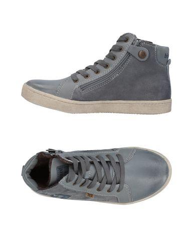 BISGAARD Jungen High Sneakers & Tennisschuhe Grau Größe 33 Leder